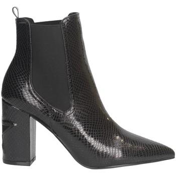 Chaussures Femme Bottines Shop Art SA030045 Bottes et bottines Femme NOIR NOIR