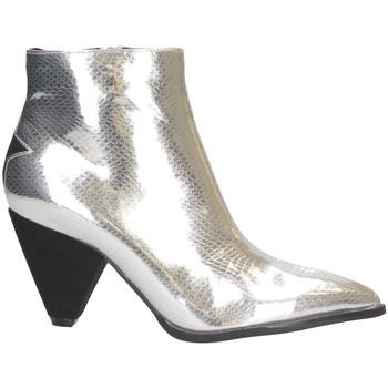 Chaussures Femme Low boots Shop Art SA030056 Bottes et bottines Femme ARGENT ARGENT