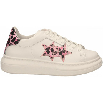 Chaussures Femme Baskets basses 2 Stars 2STAR SNEAKERS bianco-rosa