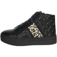 Chaussures Fille Baskets montantes Asso AG-8603 Noir