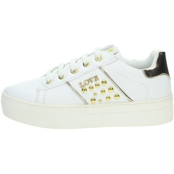 Chaussures Fille Baskets basses Asso AG-8602 Blanc