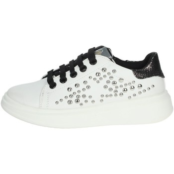 Chaussures Fille Baskets basses Asso AG-8402 Blanc