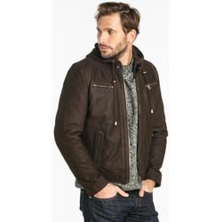 Vêtements Homme Vestes en cuir / synthétiques Daytona SCARONI HOOD COW MADISON BROWN Marron