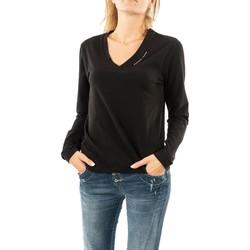 Vêtements Femme T-shirts manches longues Gertrude + Gaston angele black noir