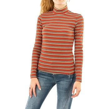 Vêtements Femme T-shirts manches longues Salsa france 2027 orange