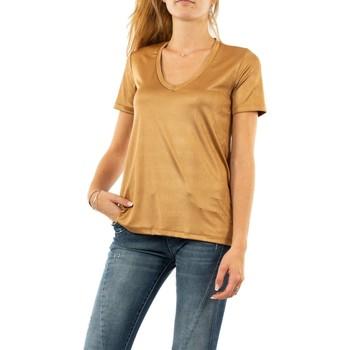 Vêtements Femme T-shirts manches courtes Please t0ay 3842 sandal beige
