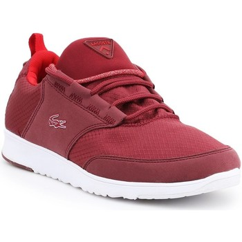Chaussures Femme Baskets basses Lacoste LIGHT01 Com Rouge
