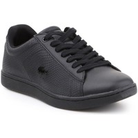 Chaussures Femme Baskets basses Lacoste Carnaby Evo Noir