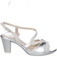 Chaussures Femme Sandales et Nu-pieds Melluso HR50119 DES SANDALES Femme ARGENT ARGENT