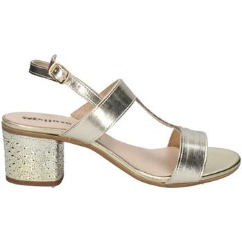 Chaussures Femme Sandales et Nu-pieds Melluso H037095 DES SANDALES Femme PLATINE PLATINE