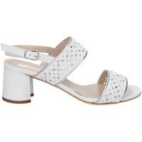 Chaussures Femme Sandales et Nu-pieds Melluso HS533 DES SANDALES Femme BLANC BLANC