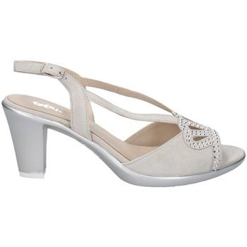 Chaussures Femme Sandales et Nu-pieds Melluso HR50122 ACIER