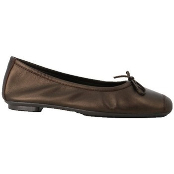 Chaussures Femme Ballerines / babies Reqin's Ballerine harmony cuir Marron