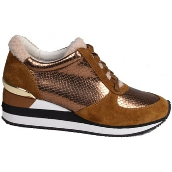 Chaussures Femme Baskets mode Karston Basket slamir Marron