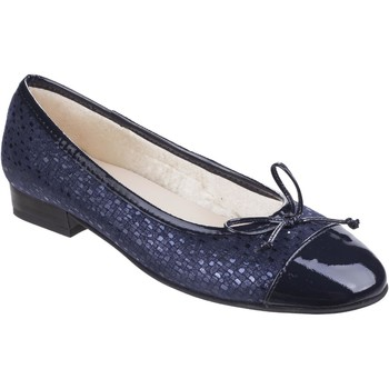 Chaussures Femme Escarpins Riva Di Mare Andros Suede/Patent Shoes Marine
