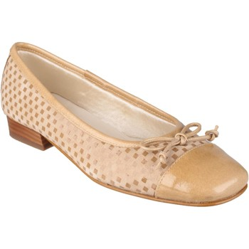 Chaussures Femme Escarpins Riva Di Mare Andros Suede/Patent Shoes Cappuccino