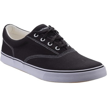 Chaussures Homme Baskets basses Hush puppies HM02100-002-6 Chandler Noir Toile