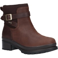 Chaussures Femme Bottines Muck Boots Liberty Ankle Leather Brown
