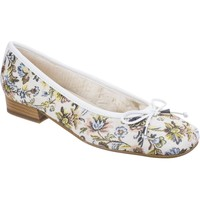 Chaussures Femme Ballerines / babies Riva Di Mare Bolsena Floral Fabric Blanc