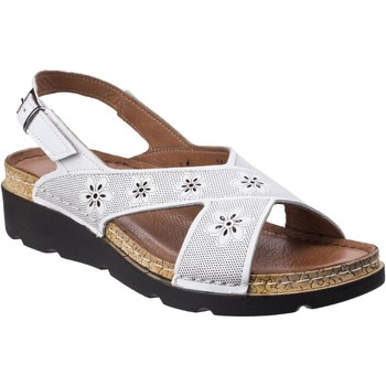 Chaussures Femme Sandales et Nu-pieds Riva Di Mare Serafina Leather Blanc