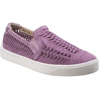 Chaussures Femme Slip ons Hush puppies HW06301-655 Gabbie Woven Orchid
