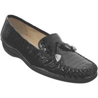 Chaussures Femme Mocassins Marco MAXOU Noir cuir