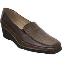 Chaussures Femme Mocassins Marco Sophora Marron clair cuir
