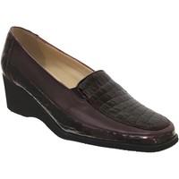 Chaussures Femme Mocassins Marco Sophora Bordeaux cuir