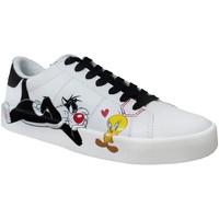 Chaussures Femme Baskets basses Dessins Animés Mplt707co Blanc