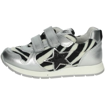 Chaussures Fille Baskets basses Naturino 0012014267.04 Argent