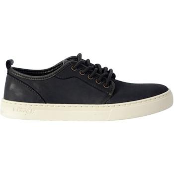 Chaussures Homme Baskets mode Natural World Basket Platform Gris-marine Noir