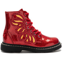 Chaussures Fille Boots Lelli Kelly Ali Di Fata Butterfly bottine Rouge