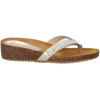 Chaussures Femme Tongs Melluso 03451X PLATINE