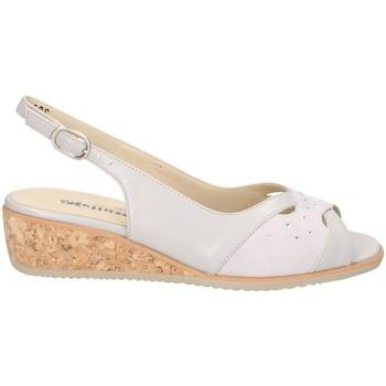 Chaussures Femme Sandales et Nu-pieds Melluso HT414 ACIER