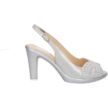 Chaussures Femme Sandales et Nu-pieds Melluso HR50117 ACIER