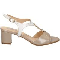 Chaussures Femme Sandales et Nu-pieds Melluso HK95337 LE SABLE.