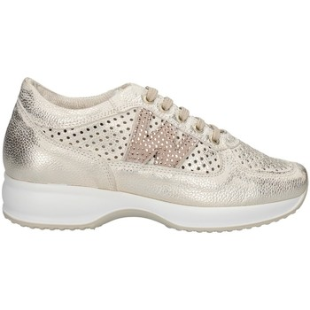 Chaussures Femme Baskets basses Melluso 015602X PLATINE