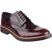 Chaussures Homme Derbies Base London Woburn PI056532 Hi-Shine Bordo Hi Shine