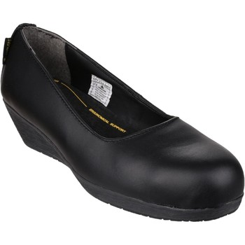 Chaussures Femme Ballerines / babies Amblers Safety N4201A1 FS107 Noir