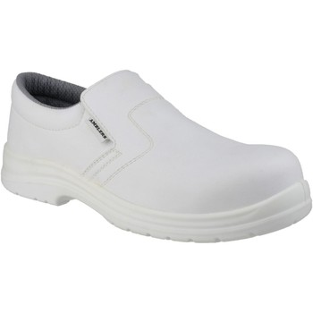 Chaussures Homme Mocassins Amblers Safety FS510 Blanc