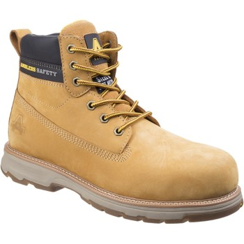 Chaussures Homme Bottes Amblers Safety AS170 Westwood Honey