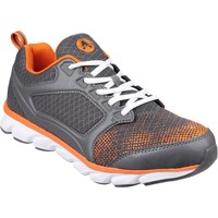 Chaussures Homme Baskets basses Amblers Safety AS707 Kyanite Gris et Orange