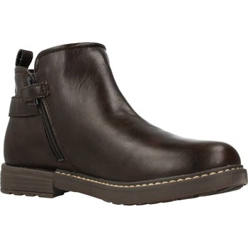 Chaussures Fille Boots Geox J ECLAIR GIRL Marron