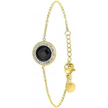 Montres & Bijoux Femme Bracelets Sc Bohème B2125-NOIR Doré