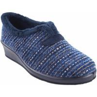 Chaussures Femme Chaussons Garzon maison Mme  1325.525 bleu Bleu