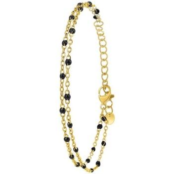 Comment faire un retour Femme Bracelets Sc Bohème B2172-NOIR Doré