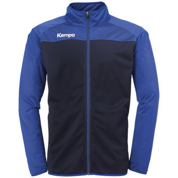 Vêtements Garçon Vestes de survêtement Kempa Veste  Prime Poly bleu marine/bleu royal