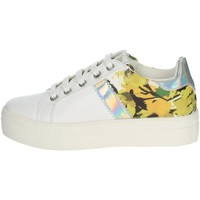 Chaussures Fille Baskets basses Asso AG-5308 Blanc