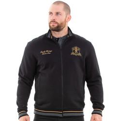 Vêtements Homme Sweats Ruckfield Sweat zippé noir héritage Noir