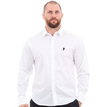 Vêtements Homme Chemises manches longues Ruckfield Chemise homme blanche Blanc